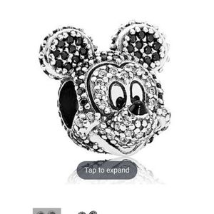 NWT LIMITED EDITION PAVE MICKEY MOUSE CHARM